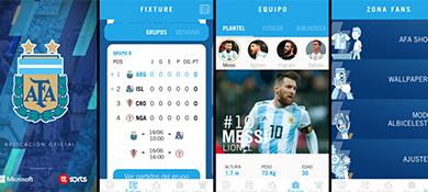 La Selección ya tiene su app oficial y promete primicias