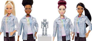 Barbie es ingeniera, y busca estimular la participación de las mujeres en STEM