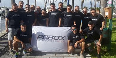 Grupo Núcleo, Intel, Lenovo y PCBOX viajaron con el canal a Miami