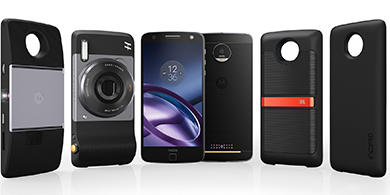 Motorola busca Moto Mods