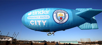 Tinder y el Manchester City hicieron