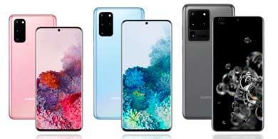 Samsung lanzó su Galaxy S20, con 5G y una nueva arquitectura de cámara