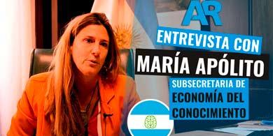 La estrategia del Gobierno para la Economía del Conocimiento. Entrevista con María Apólito