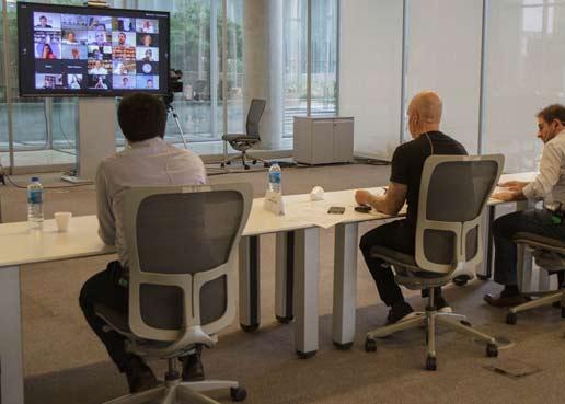 Rodríguez Larreta dialogó con empresarios sobre la reconversión tecnológica de las empresas