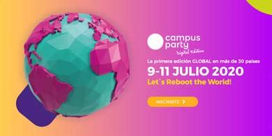 Reiniciar el mundo: ¿qué nos trae la edición digital de Campus Party, que comienza mañana?