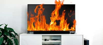 Se recalienta la TV