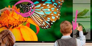 Distecna trae la pantalla LG para entornos educativos