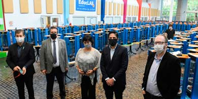 1.000 impresoras 3D en Educ.ar para producir protectores faciales