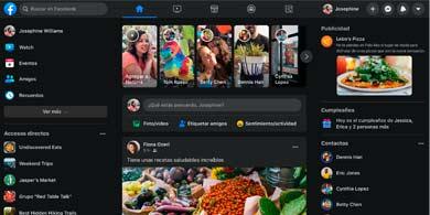 Facebook renovó su diseño web, que incluye un