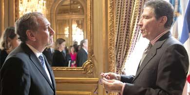 Comandante Barañao. La República de Francia honró la ciencia argentina