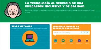 Juana Manso, la nueva plataforma federal con aulas virtuales para estudiantes y docentes