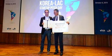 Satellogic ganó el Korea-LAC Startup Pitch Day