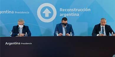 Junto a Newsan Alberto Fernández lanzó el Programa Conectar Igualdad Ushuaia
