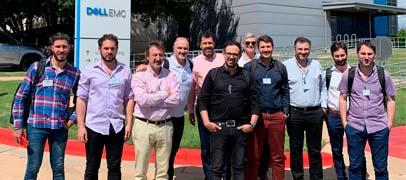 PC-Arts visitó los headquarters de Dell, en Austin, junto a sus clientes