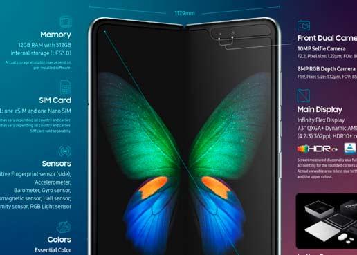 Todo lo que tenés que saber sobre el nuevo Samsung Galaxy Fold