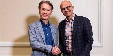 Sony y Microsoft, juntas por el entretenimiento y la IA
