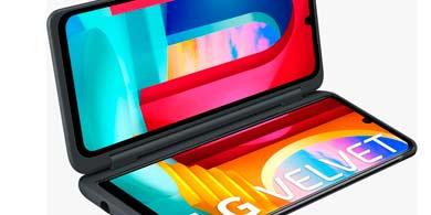 LG lanza VELVET en Argentina, y vendrá con una segunda pantalla de regalo