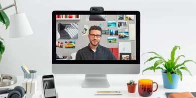 La business Webcam y su uso para la creación de entornos de trabajo virtuales